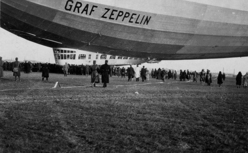 """Vor 90 Jahren eröffnete die """"Graf Zeppelin"""" den touristischen Fernverkehr mit Luftschiffen"""